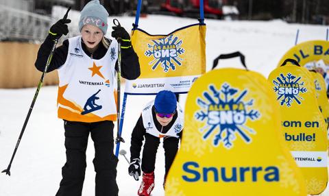 Rekordmånga barn får uppleva snö- och rörelseglädje