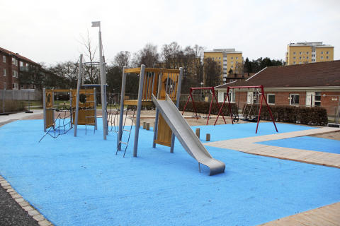 Invigning av nya upprustade Månadsparken i Kortedala den 17 juni kl 12-14