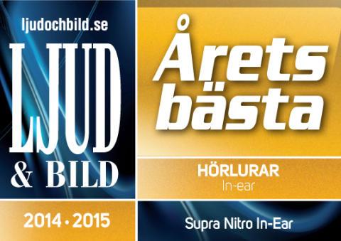 SUPRA NiTRO - Årets Bästa Hörlurar i Norden