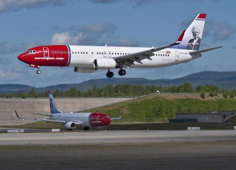 Norwegian startar direktlinje från Karlstad till Alicante