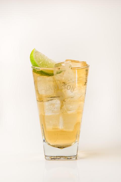 Jameson, Ginger Ale & Lime