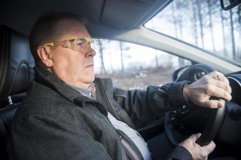 Leif Petterson (S) testkör – Synbesiktningen 2016