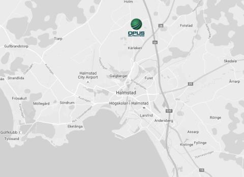 Opus Bilprovning öppnar en station intill E6 i Halmstad