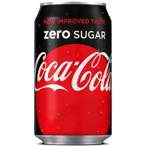 Uusi Coca-Cola Zero Sugar -tölkki