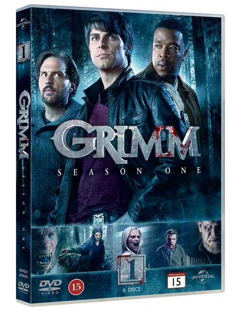 GRIMM - säsong 1 på DVD 24 oktober