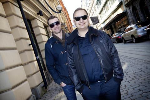 Daniel Daboczy and Arno Smit - co-founders of Europe's fastest-growing crowdfunding platform, FundedByMe