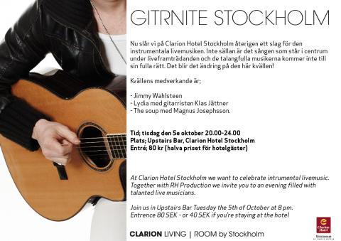 GitRNite i Clarion Living Room by Stockholm