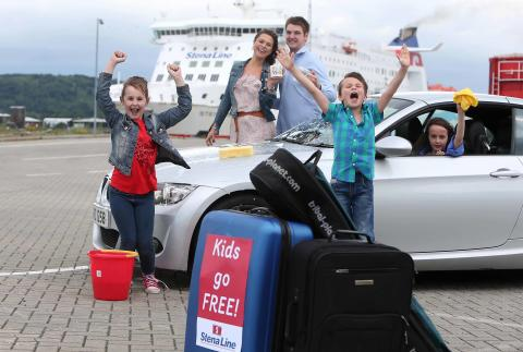 Kids clean up as ferry company announces 'Kids Go Free'