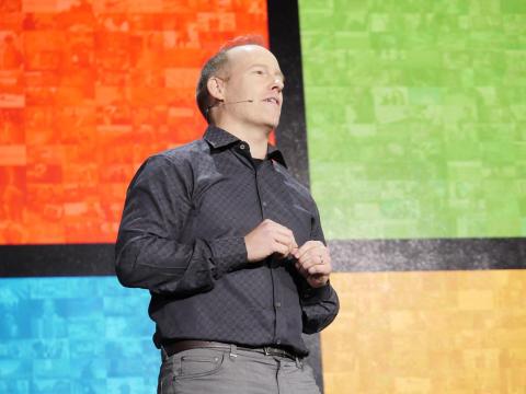 Doug Burger, distinguished engineer, at Microsoft Ignite