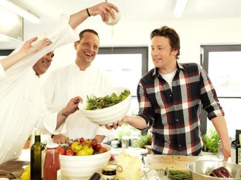 Premiär för Jamie Olivers höstmeny på Scandic