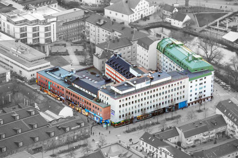 Skandia Fastigheter förvärvar ett av Uppsalas mest centrala kvarter