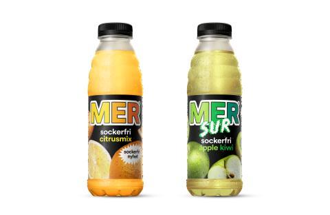 MER lanserar sockerfria nyheter inför sommaren - två syrliga och uppfriskande smakupplevelser