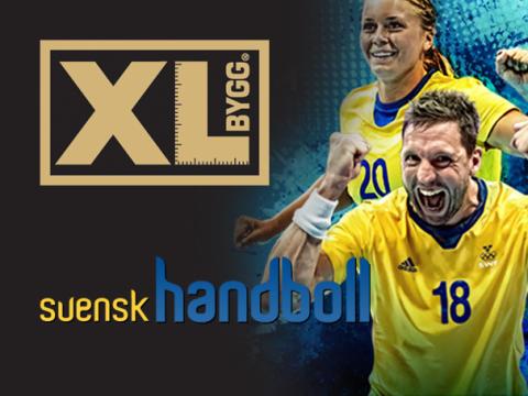XL-BYGG ny partner till de Svenska handbollslandslagen.