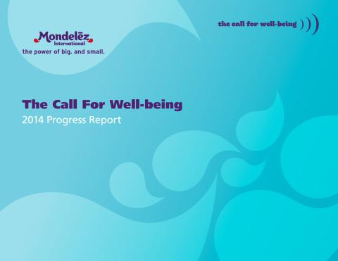 Call For Well-being 2014 Progress Report