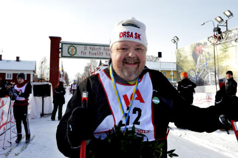 Kalle Moraeus åkte KortVasan 2013