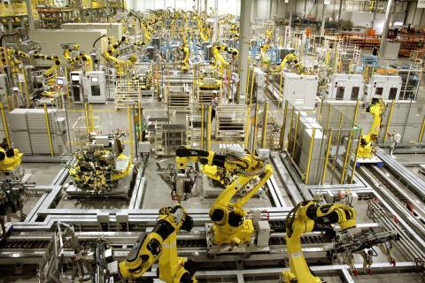 Kia Motors Mexico roboter
