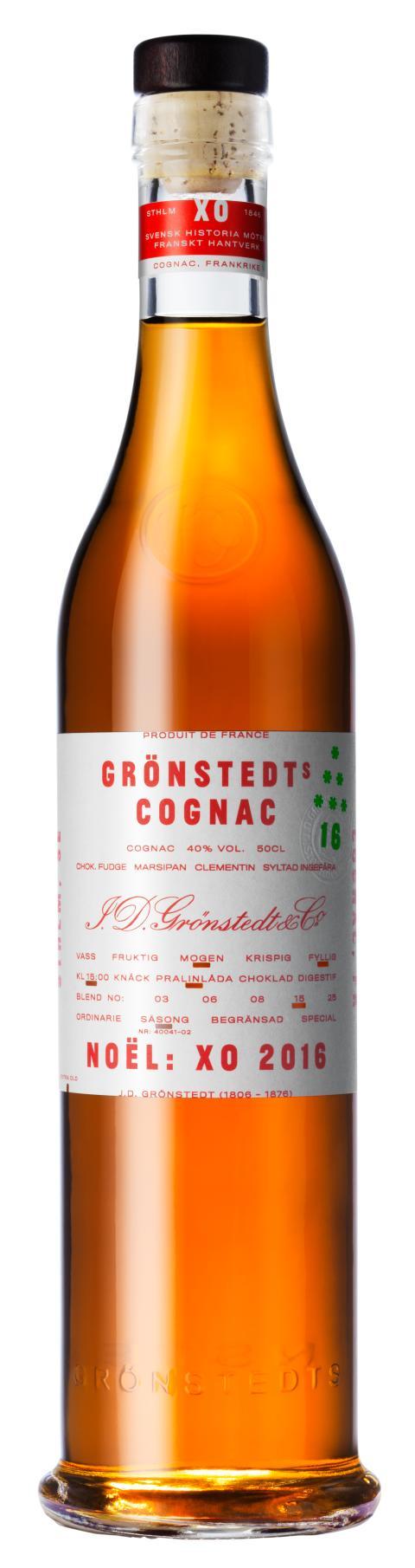 Grönstedts Cognac XO Noël 2016