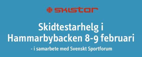 SkiStar Hammarbybacken: Peppa inför sportlovet med skidtest i Hammarbybacken