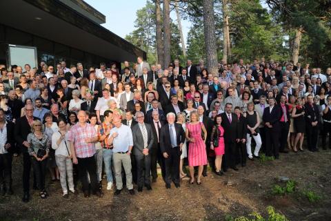 Älvsbyhus firade 70 år med alla sina medarbetare!
