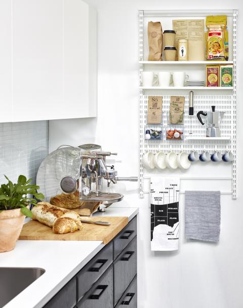 Liten förvaring i köket som gör stor skillnad