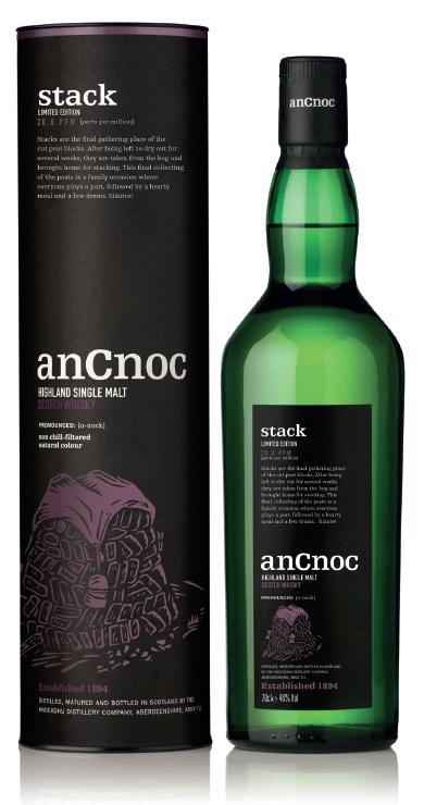 Nya rökiga anCnoc Stack till Sverige den 21 oktober!