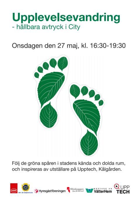 Upplevelsevandring, Gröna avtryck i City 27 maj