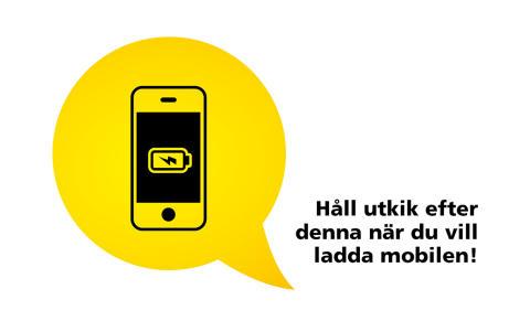 Mobilladdning på fler bussar i Uppland