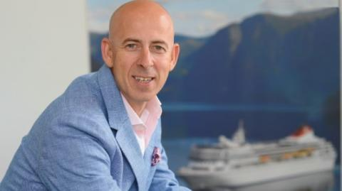Peter Deer confirmed as Fred. Olsen Cruise Lines' new Managing Director