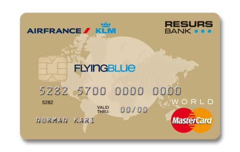 Air France KLM väljer Resurs Bank för kortprogram i Norge