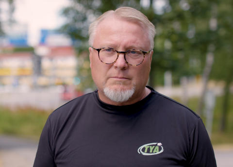 Lasse Holm, projektledare på TYA