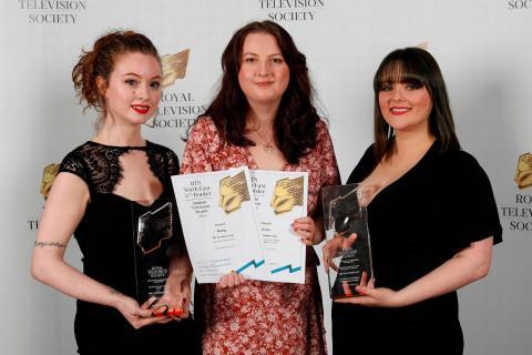 Northumbria graduates celebrate success at Royal Television Society Awards