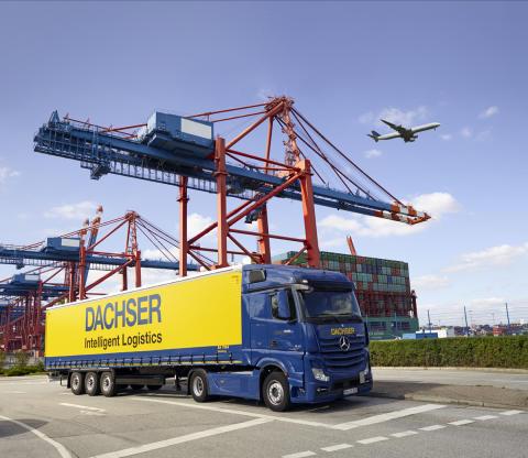 Real und digital: DACHSER auf der transport logistic