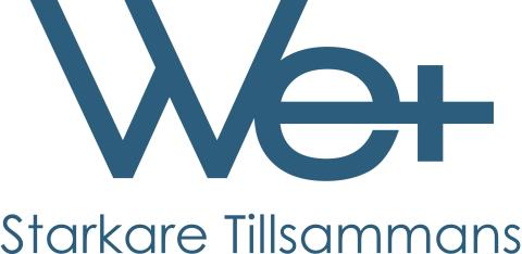 We+ logo w tagline