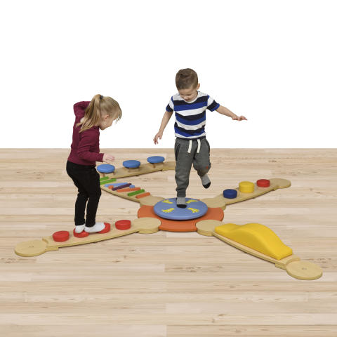 Educational Advantage-Wisdom Sensory Balance Beams Set 2