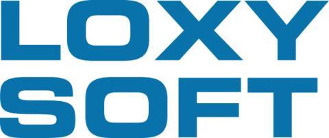 Loxysoft Logo blue eps