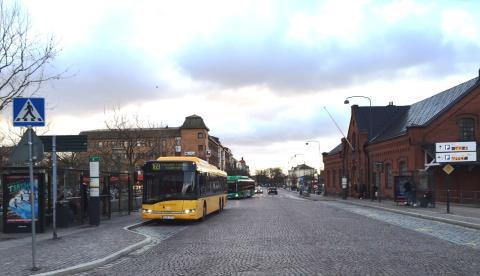 Nya hållplatslägen för bussarna vid Lund C