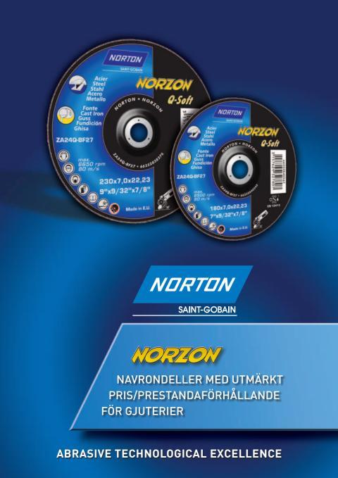 Broschyr Norton Norzon Q-Soft navrondeller