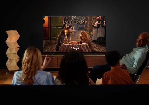 Il lancio di Disney+ sui TV BRAVIA con Android TV di Sony