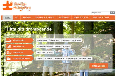 Hitta ditt drömboende i Familjen Helsingborg