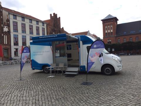 Beratungsmobil der Unabhängigen Patientenberatung kommt am 6. Februar nach Greifswald.