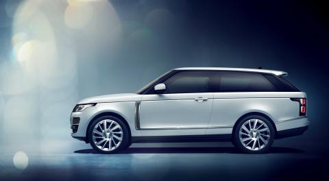 Range Rover SV Coupé firar debut i Genève