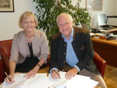 Bayernwerk und Markt Pöttmes verlängern Partnerschaft bei der Stromversorgung