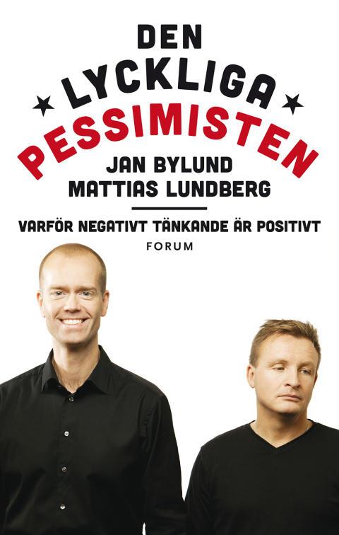 """Omslagsbild """"Den Lyckliga Pessimisten"""""""