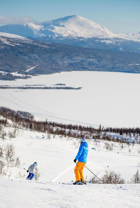 Skidåkning Linbanan Tärnaby