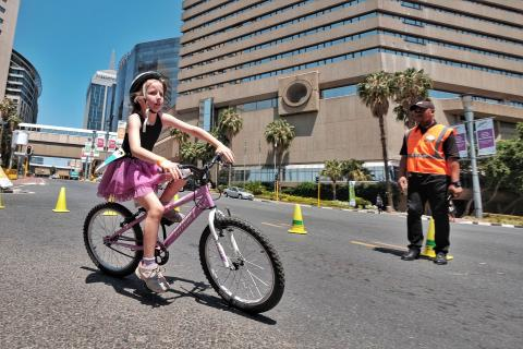 Discovery Kids Duathlon in Sandton