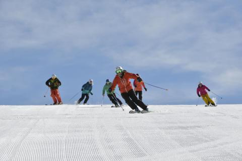 Slalom på ski Foto Idre Fjäll