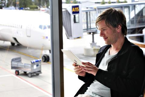 Lad opp før reisen fra Oslo Lufthavn