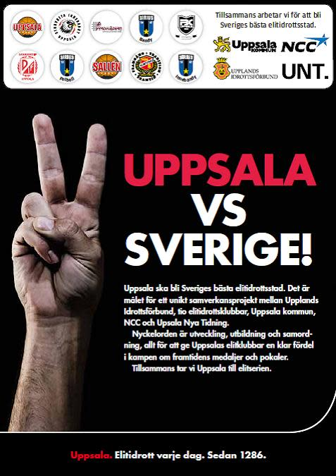 Elitidrottsstaden Uppsala fördjupar samarbetet i strategiska frågor