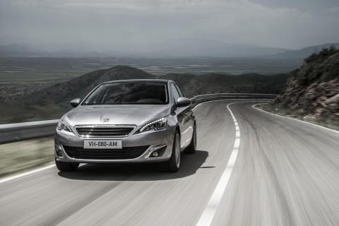 En elegant sedan - nya Peugeot 308
