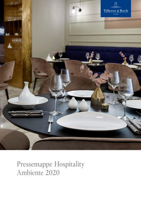 Pressemappe Hospitality Ambiente 2020